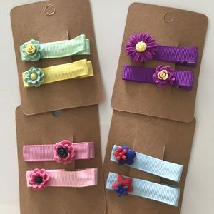 Hair clips bundle (8 in total included)